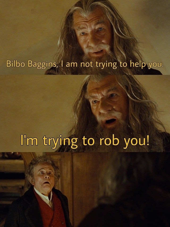 20 Dank Lord Of The Rings Memes For The Superfans Lord Of The Rings Lotr Funny Bilbo Baggins