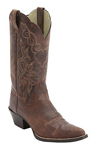 Ariat® Womens Sassy Brown Heritage J-Toe Western Boots | Cavenders Boot City Option 1 for Alicia's Wedding