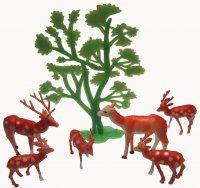 Spotted Deer Herd Set