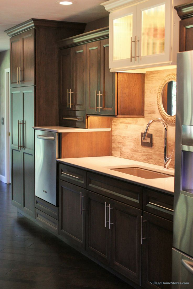 73 best transitional kitchens images on pinterest transitional dura supreme s gray cherry