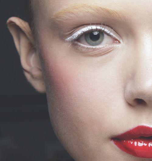 20 x Inspiratie om vaker witte eyeliner te gebruiken | NSMBL.nl