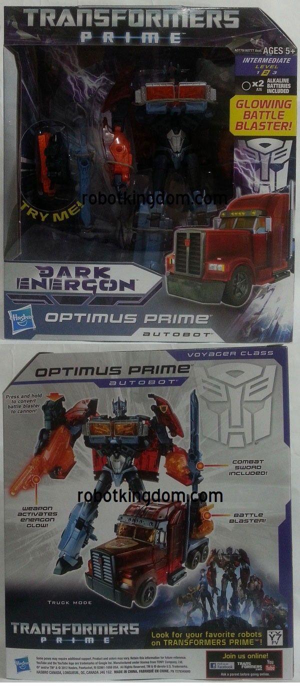 hasbro transformers prime dark energon voyager set of 2 #transformer