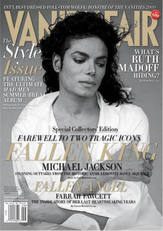 Michael Jackson en 'Vanity Fair'