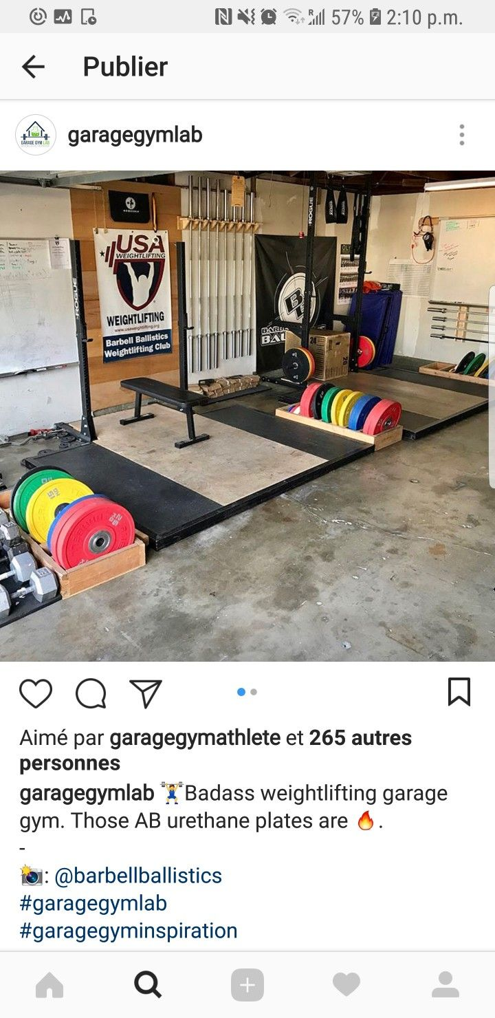 2 Squatting Stations Home Ideas Pinterest At Gym Design And Garage