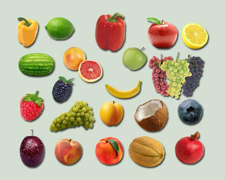 Fruit Pk 1 PSD by ravenarcana