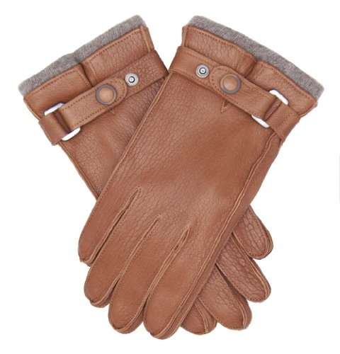 Italian Cashmere Lined Textured Lambskin Gloves By Fratelli Orsini ($155.95)