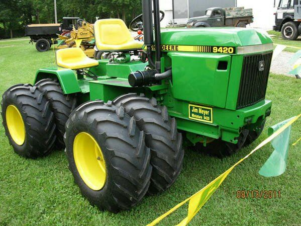 John Deere 420 Garden Tractor | ... Have Any Info On This Articulated John Deere 420 Garden Tractor