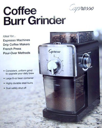 Capresso Coffee Burr Grinder * You can find more details by visiting the image link.