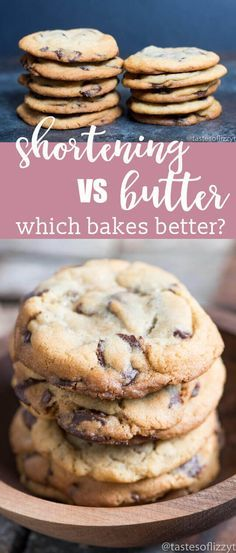 Have you ever wondered what makes the best chocolate chip cookie? We're here to face off shortening vs butter in cookies using Original Nestle®️ Toll House®️ Chocolate Chip Cookie recipe. best cookie recipes / how to make the best cookies / chocolate chip