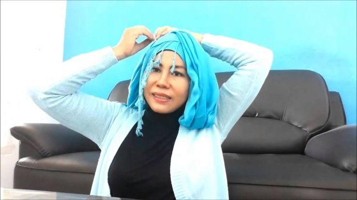 Tutorial Hijab Rai Pashmina Modee