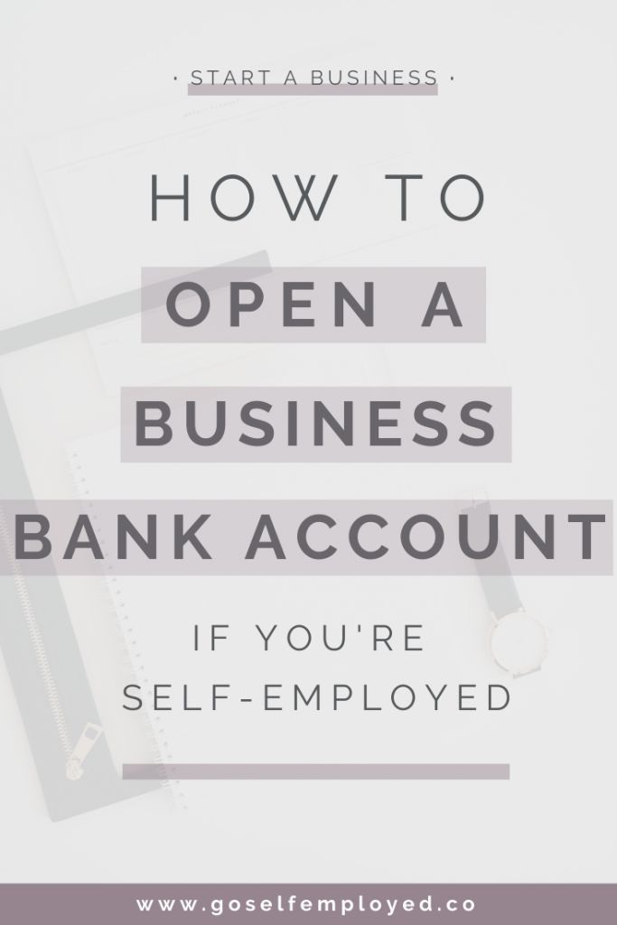 How To Open A Business Bank Account