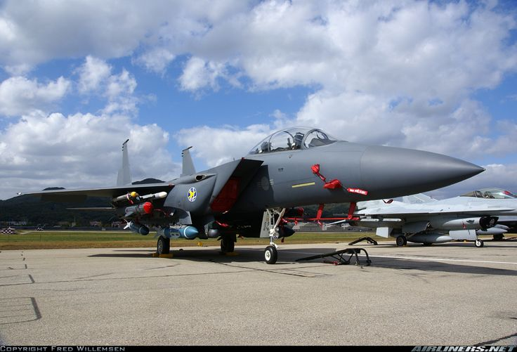 Republic of Korea Air Force Boeing F-15K Slam Eagle (Airliners.net)