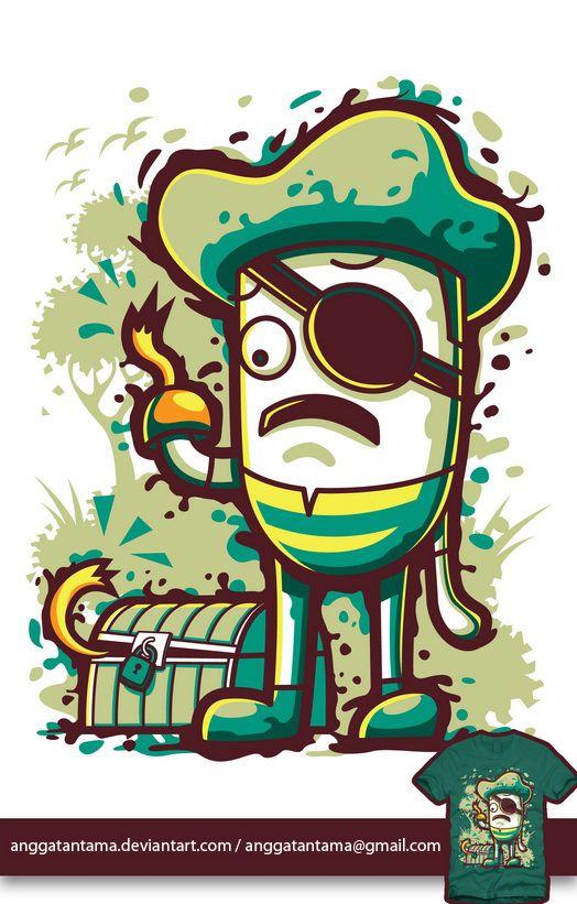 Illustration For Kid #2 by angga tantama, via Behance
