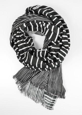 society for scarves art stripe scarf