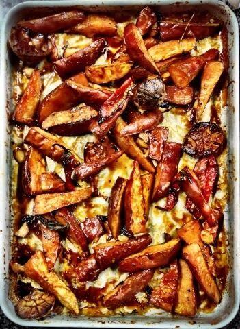 Zoete aardappel - ottolenghi