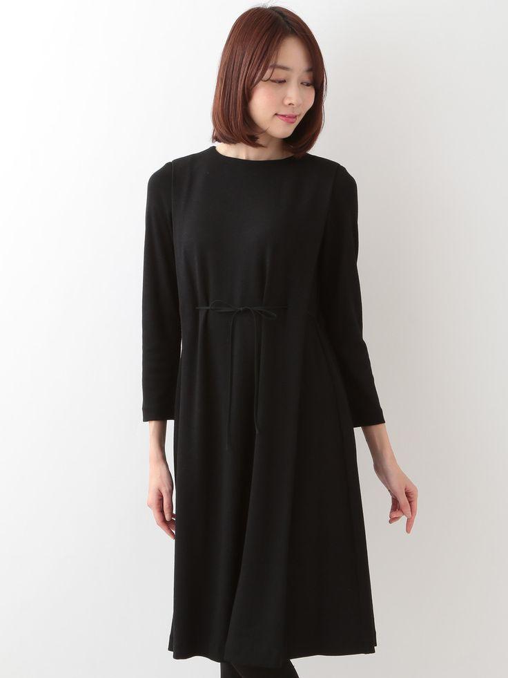 Wool Jersey Dress | Sybilla (Sibylla) | Itokin fashion mail order site