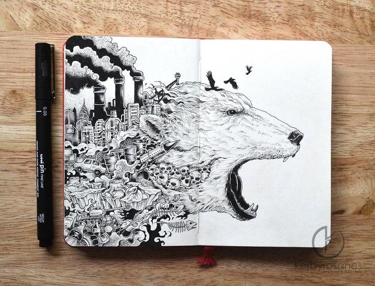 Moleskin doodles
