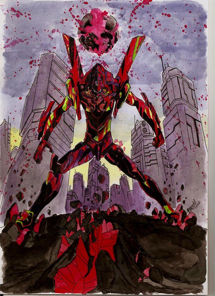 Evangelion 01, que gran capitulo es este
