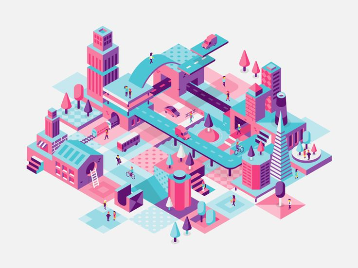 Never not working on these isometric designs. Fun stuff! Check out the 2x size for details.