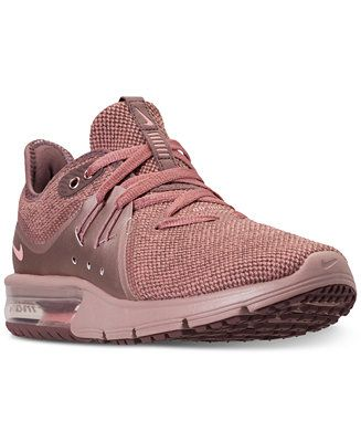 f995bcbc58c Nike Women s Air Max Sequent 3 Premium AS Running Sneakers from Finish Line  - Finish Line Athletic Sneakers - Shoes - Macy s