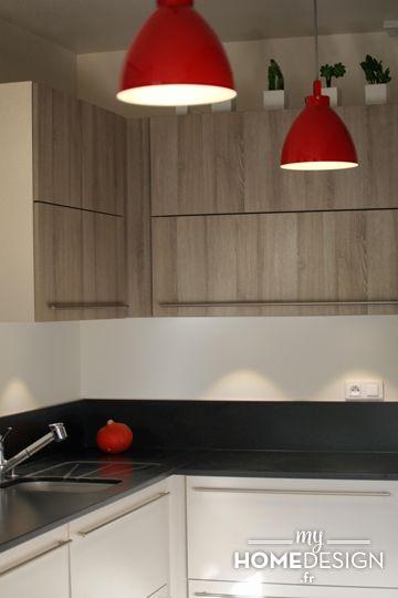 Stunning une verrire indusu sublime le volume cuisine mlze et plan de with granit cuisine