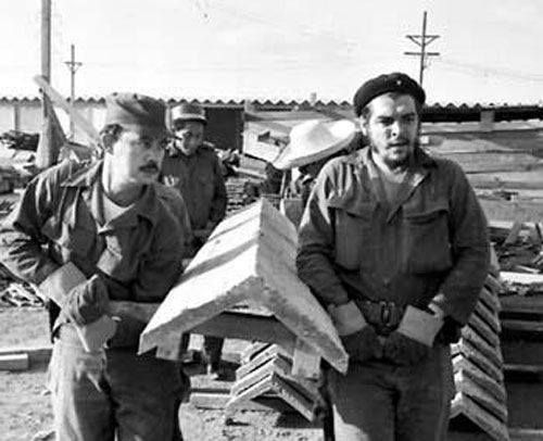 Che Guevara: un símbolo del trabajo voluntario en cuba