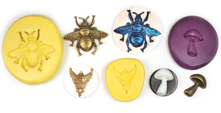 Curious about using silicone molds with polymer clay? Learn how to fill the mold, make a good casting, and create a faux cameo.