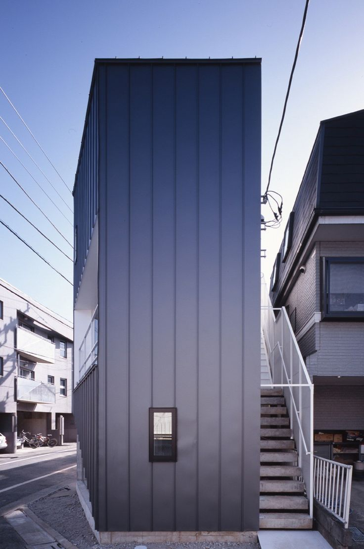 Built by KINO Architects in , Japan The project site, only about 46 square meters, is in a high-density residential area of Tokyo. Before, there was a de...