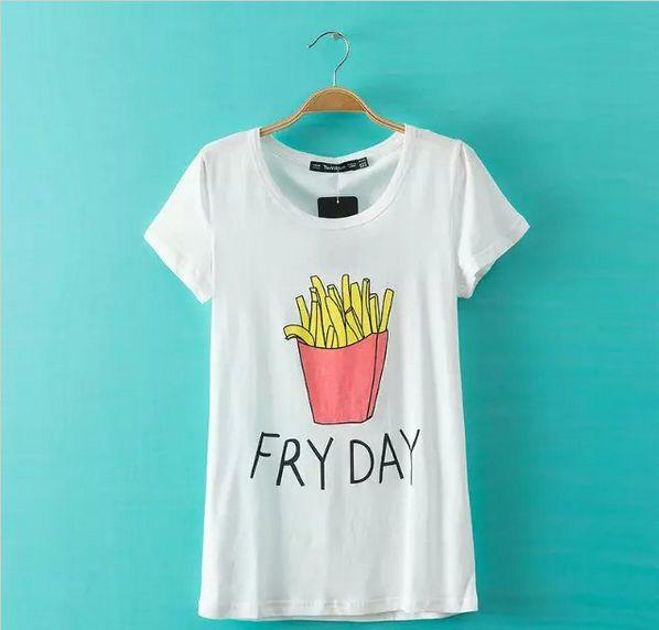 Confira aqui - T-shirt Feminina FRYDAY - Cam Shirts