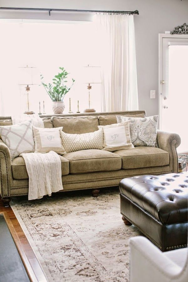 25 best ideas about tan couches on pinterest tan living - Colour schemes for living rooms 2015 ...