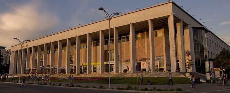 Palace of Culture http://voyostravel.com/palace-of-culture-tirana-albania/