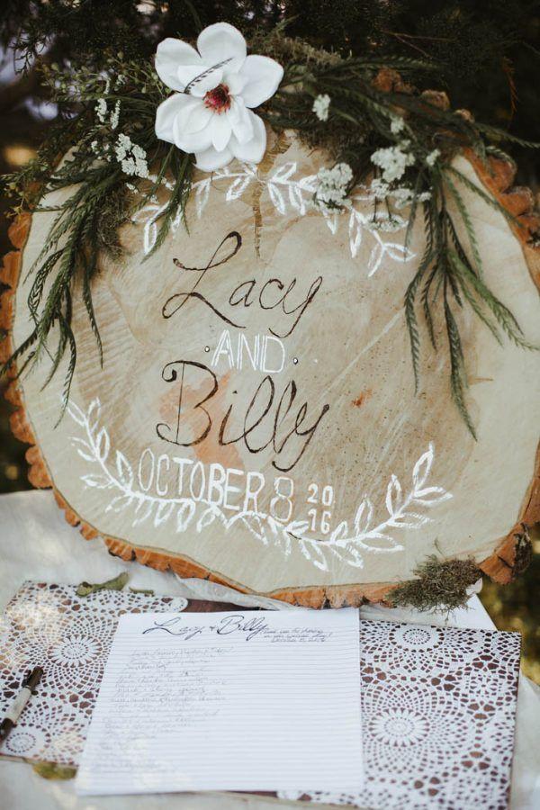 Absolutely Enchanting Southern DIY Wedding at Aurora Acres