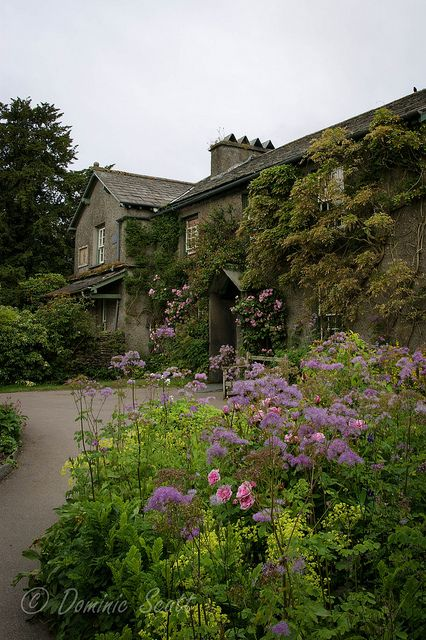 Beatrix Potters House 'Hill Top' - Nr Sawrey England   Flickr - Photo Sharing!
