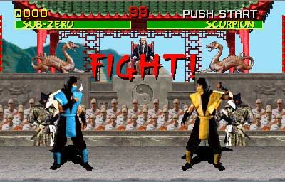 The first Mortal Kombat. I played a lot of the older games. I have yet to play the newer ones.