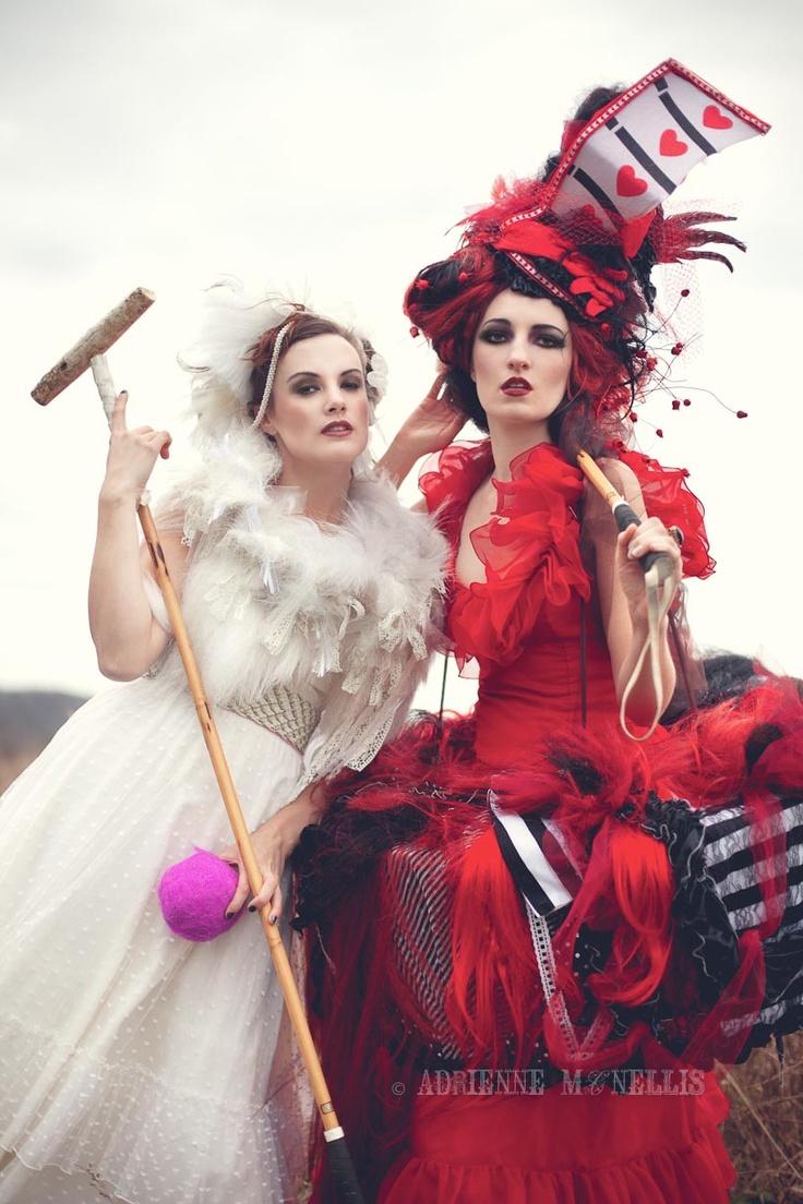 Red Queen; White Queen. Photo: Adrienne McNellis