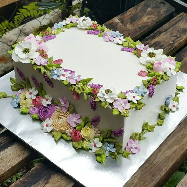 Sheet Cake Decorated With Flowers : 25+ best ideas about Sheet cakes decorated on Pinterest ...