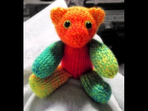 36 Peg Loom Knitting Patterns : How to Loom Knit a Teddy Bear 36 pegs - YouTube ? Pinteres?