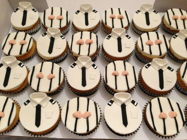 Prison officer cupcakes