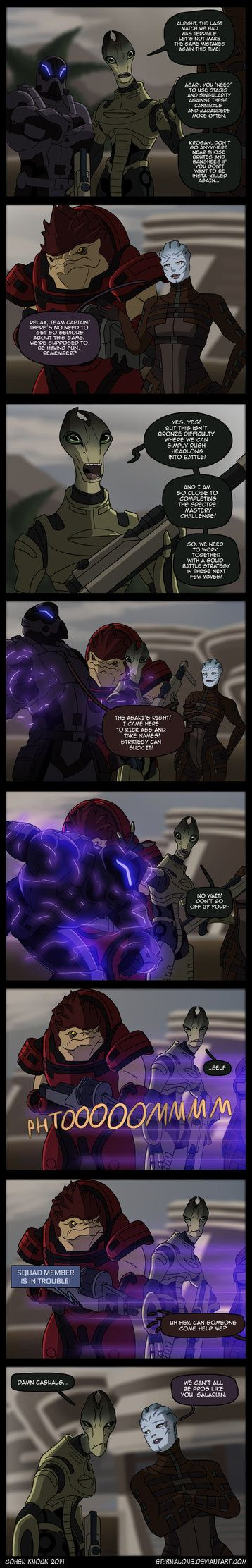And that's why from this day forth, no one will play ME Multiplayer with me while I'm a Vorcha Sentinel! Xp Mass Effect is © Bioware & EA