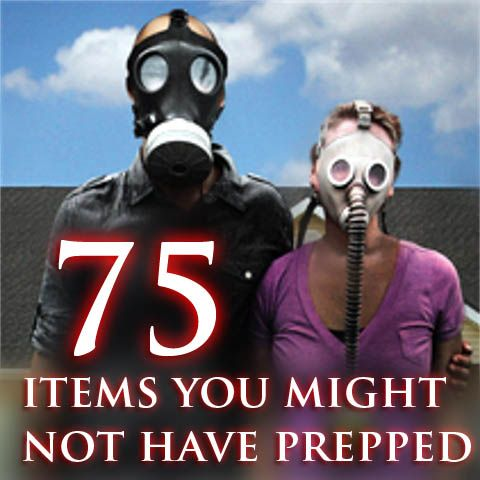 It seems like all the blogs, YouTube videos and message-boards talk about prepping food, water and guns. Well we've compiled a list of 75 helpful items that you should consider prepping for a SHTF ...
