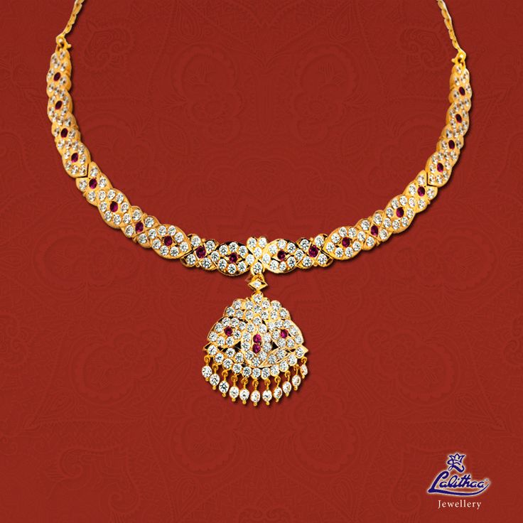 This collection brings to life the magnificent, gorgeous pieces of jewellery adorning. ‪#‎lalithaajewellery‬  Product code: Getti Necklace004 Check out here: http://bit.ly/22oC8sr