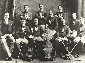 Hockey's first Stanley Cup game was played in Montreal | March 22, 1894