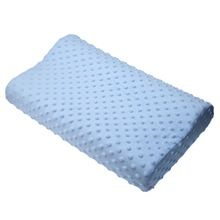 Memory foam pillow care new 3 colors Orthopedic Latex Neck Pillow Fiber Slow Rebound Memory Foam Pillow Cervical Therapy
