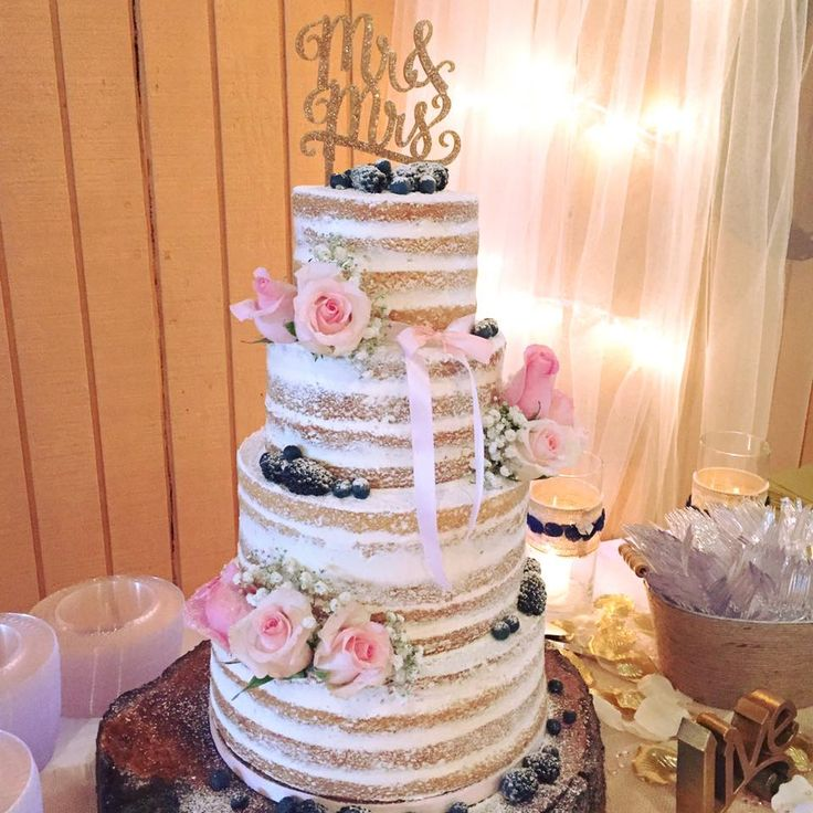 Sweet And Simple Naked Wedding Cakes: 103 Best Dolce Designs Images On Pinterest