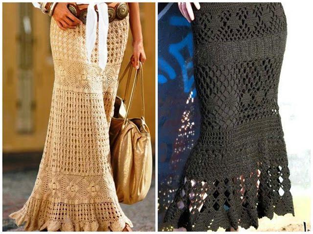 Little Treasures rounded up ten free #crochet skirt patterns