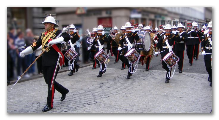 Royal Marine Band Reform Street Dundee,