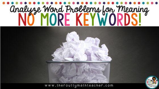 Analysieren von Wortproblemen auf Sinn – keine weiteren Stichwörter! (Überarbeitet