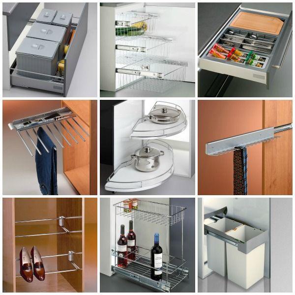 Las 25 mejores ideas sobre maximizar el espacio en for Organizar armarios cocina
