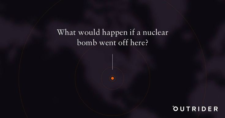 Choose a bomb and experience the power of a nuclear blast in your area