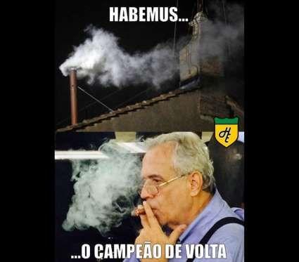 Nas redes sociais, os torcedores aproveitaram para fazer piada com os rivais - Veja os melhores memes da semana: Vasco, SP, Palmeiras e Barcelona